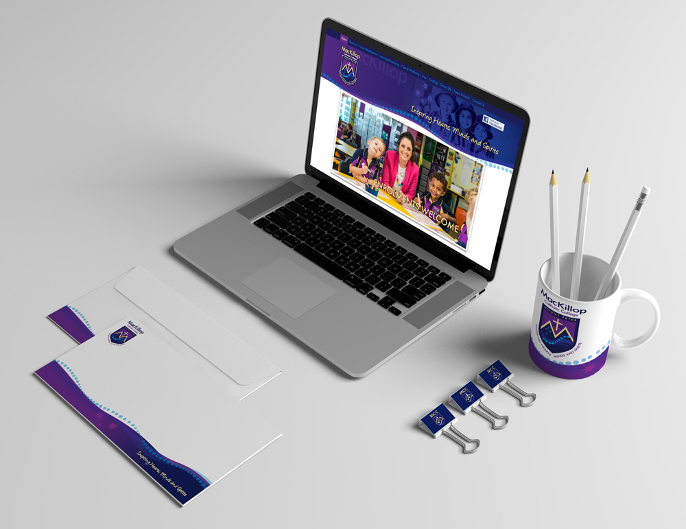 MacKillop Catholic College website design